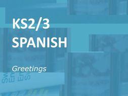 KS2/3 Spanish Greetings: Worksheet Selection
