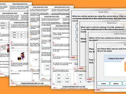 Grammar Year 6 Using Subjunctive Form Autumn Block 4 Step 3 Lesson Pack
