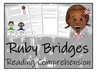 UKS2 History - Ruby Bridges Reading Comprehension Activity