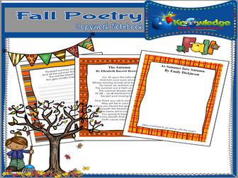 Fantastic Fall Poetry Copywork