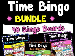 Time Bingo Bundle