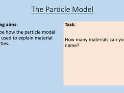 KS3 The Particle Model