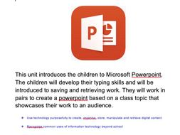 Year 2 PowerPoint Unit with Video Tutorials