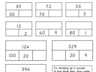 Year 3 place value - understanding the value of digits