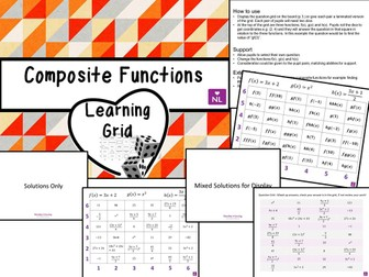 Composite Functions (Learning Grid)