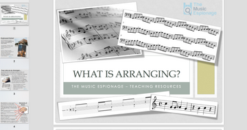 Arranging Music - FULL LESSON