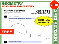 KS2 Maths (Measuring + Drawing)