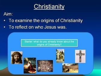Christianity topic KS3