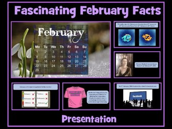 February Presentation