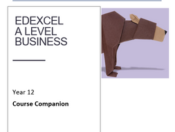 A level Year 12 Handbook, study companion. Includes SOW, exam structure, wider reading and specs