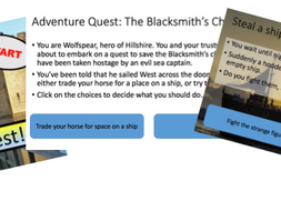 Adventure Quests - Powerpoint Projects