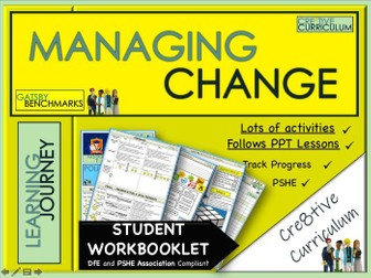 Managing Change Making Friends Student Work Book - PSHE