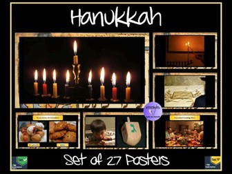 Hanukkah Posters