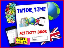 Tutor Time Booklet