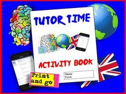 Tutor Time Activities Booklet