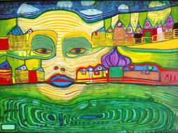 Hundertwasser mini project, biography, and quiz