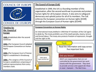 Council of Europe  -  CoE