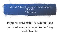 Edexcel A Level Gray & Dracula A Rebours