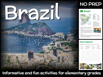 Brazil (country study for elementary grades)