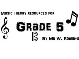 Musical terminology worksheets (grades 1-5)