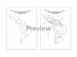 Geography locate the worlds countries using maps to focus on south geography locate the worlds countries using maps to focus on south america ks2 gumiabroncs Images