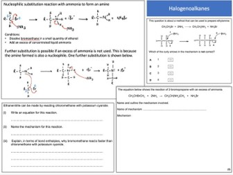 a level organic chemistry revision notes pdf