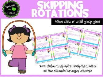 Physical Education Games - Skipping
