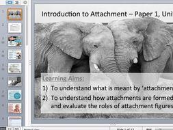 AQA New Spec Attachment Lesson 1 - Schaffer & Emerson