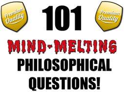 101 Philosophical Questions (P4C) [Philosophy for Children]