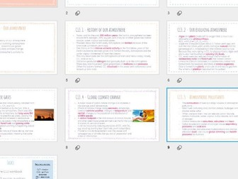 AQA GCSE Chemistry - Our Atmosphere revision powerpoint
