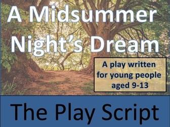 KS2 / KS3 Drama - A Midsummer Night's Dream Play Script