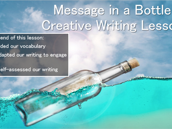 Creative Writing - Message in a Bottle