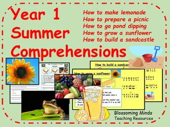 Year 1 comprehensions - Summer theme