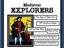 BUNDLE: READING COMPREHENSION - Medieval Explorers and the Age of Discovery