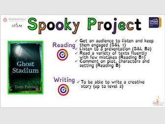 Ghost Stadium Reading and Writing Project  (Low Ability/SEN)