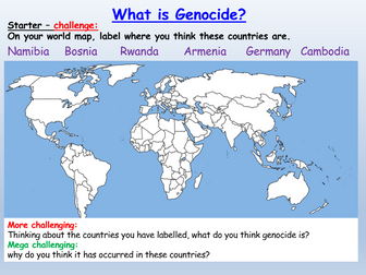Genocide Human Rights Citizenship