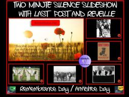 Armistice Day / Remembrance Day: Two Minutes Silence Slideshow