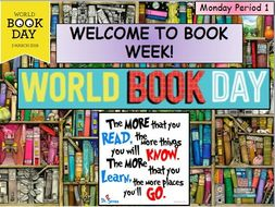 World Book Day and Book Week starters