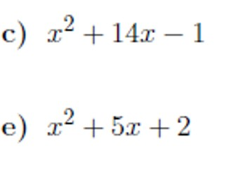 Completing the square and finding turning points worksheets (with solutions)