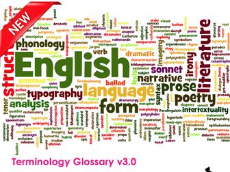 Literary & Linguistic Terminology Glossary