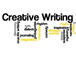 Imaginative writing: 1-9 GCSE fiction paper