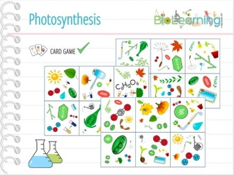 Photosynthesis - Card Game