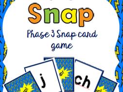 Snap Phonics Card Game