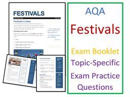 AQA Islam Practices: Festivals - Exam Booklet
