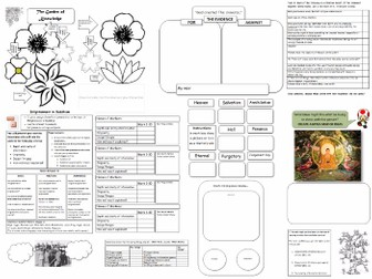 Blank Worksheet Templates [Worksheet Activity Generator]Make worksheets easily: use these Activities
