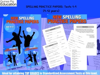 Practise SATS SPAG Spelling Tests (Tests 1-9) (9-12 years)