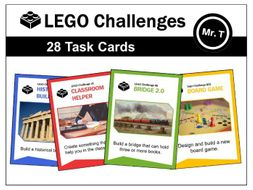 LEGO Challenges - 28 Task Cards