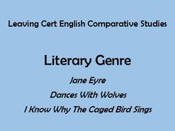 Leaving Cert English  Comparative Studies  Literary Genre Sample  Leaving Cert English  Comparative Studies  Literary Genre Sample Answer  Essay Analytical Essay Thesis also Business Plan Writers North Carolina  Accounting Custom Assignment
