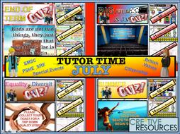 Form Time - July - Tutor Time
