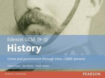 Norman crime and punishment - Edexcel GCSE (9-1) History Crime and Punishment in Britain